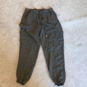 Pants - Green joggers